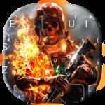 Battle Skull Keyboard Theme icon