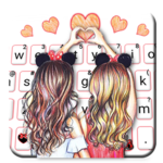 Best Friend Forever Keyboard Theme APK icon