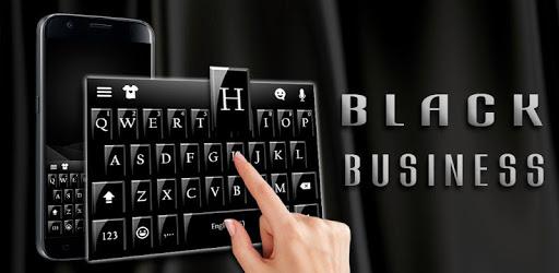Black Business Keyboard pc screenshot