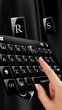 Black Business Keyboard APK screenshot 1