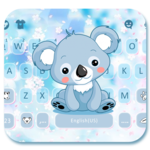 Cartoon Koala Keyboard Theme icon