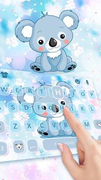 Cartoon Koala Keyboard Theme APK screenshot 1