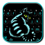 Cheshire Night Cat Keyboard Theme icon