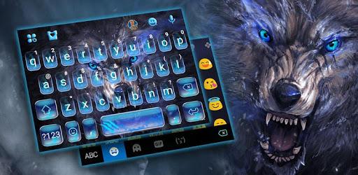 Cruel Night Wolf Keyboard Theme pc screenshot
