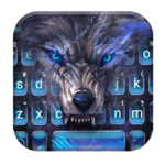 Cruel Night Wolf Keyboard Theme icon