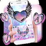 Cute Galaxy Wings Keyboard Theme icon