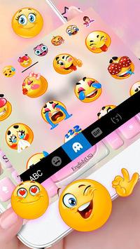 Cute Sweet Cupcake Keyboard Theme APK screenshot 1