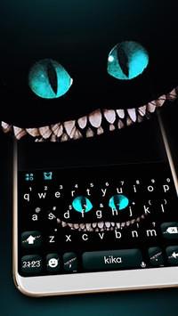 Cheshire Devil Cat Smile Keyboard APK screenshot 1