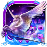 Dreamy Wing Unicorn Keyboard Theme for pc icon