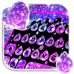 Galaxy Drop Heart Keyboard Theme icon
