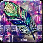 Galaxy Feather Keyboard Theme icon