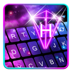 Galaxy 3d Hologram Keyboard Theme icon