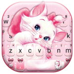 Girlish Kitty Keyboard Theme icon