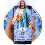 Holy Jesus Keyboard Theme icon