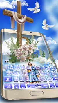 Holy Jesus Keyboard Theme APK screenshot 1