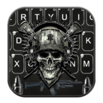 Horror Guns Skull Warrior Keyboard icon