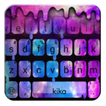 Liquid Galaxy Droplets Keyboard Theme icon