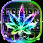 Luminous Smoke Weed Keyboard Theme icon