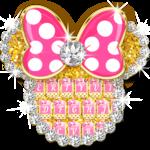 Pink Bow Minnies Keyboard theme icon