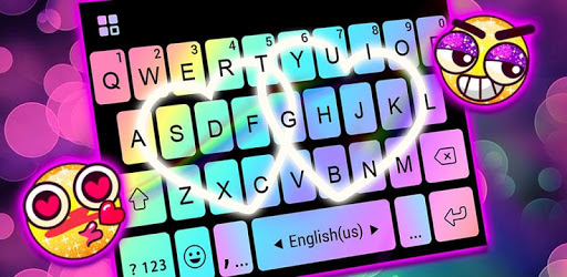 Rainbow Love Fonts Keyboard pc screenshot