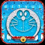 Silver Robot Cat Keyboard Theme icon
