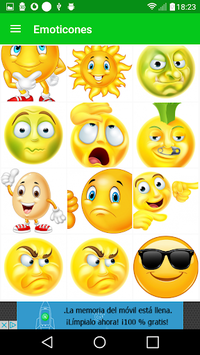 Emoticons for whatsapp APK screenshot 1