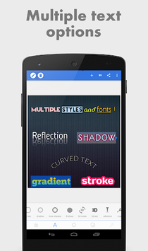 PixelLab - Text on pictures APK screenshot 1