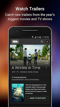 IMDb Movies & TV APK screenshot 1