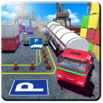 3D Truck Parking Sim Real Semi Trailer Driver Game icon