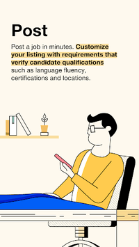Indeed Employer APK screenshot 1
