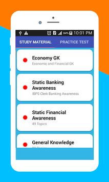 IBPS Clerk Preparation APK screenshot 1