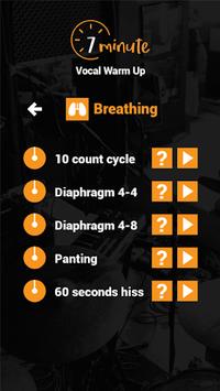 7 Minute Vocal Warm Up APK screenshot 1