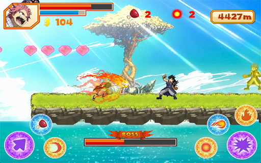 Natsu Runner apk screenshot 1