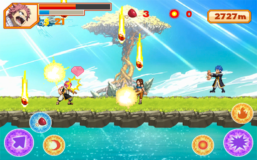 Natsu Runner apk screenshot 2