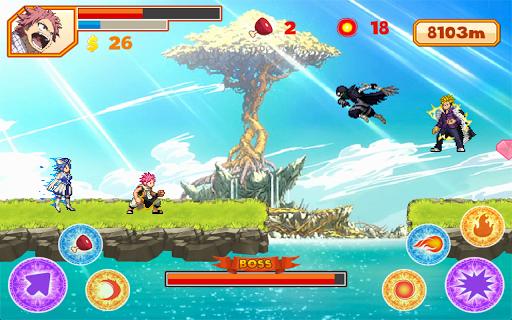 Natsu Runner apk screenshot 3