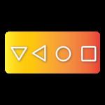 Soft Keys home back button (bottom navigation bar) icon