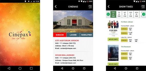 Cinepax - Buy Movie Tickets pc screenshot