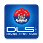 Sindh Driving License App icon