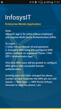 InfosysIT APK screenshot 1