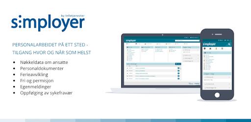 Simployer pc screenshot