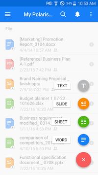 Polaris Office - Word, Docs, Sheets, Slide, PDF APK screenshot 1