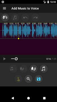 Add Music to Voice apk screenshot 2