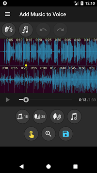 Add Music to Voice apk screenshot 3