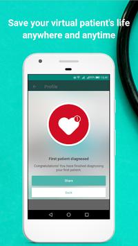 InSimu Patient - Diagnose Virtual Clinical Cases APK screenshot 1
