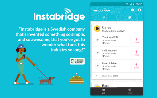 Instabridge - Free WiFi Passwords and Hotspots APK screenshot 1