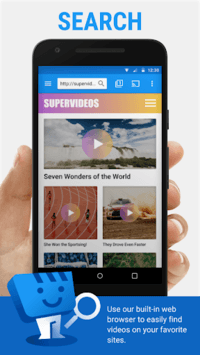 Web Video Cast   Browser to TV (Chromecast/DLNA/+) APK screenshot 1