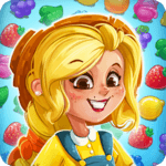 Jacky's Farm: Match-3 Adventure icon