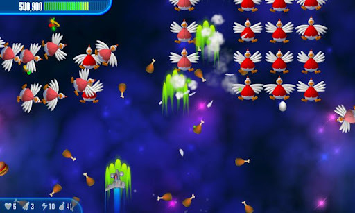Chicken Invaders 3 APK screenshot 1