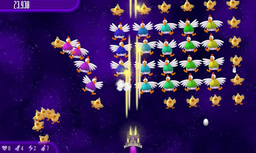 Chicken Invaders 4 APK screenshot 1