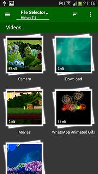 File Selector/Explorer APK screenshot 1